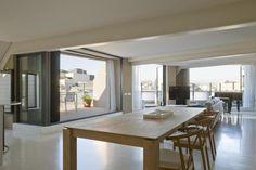 Attico con vista sui tetti di Barcellona