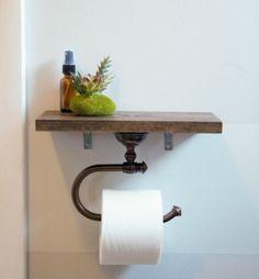 Деревянный держатель для туалетной бумаги - где взять? | Идеи для ремонта