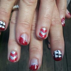 Bama nails done by me