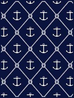ChappyWrap Blanket  anchors & knots navy/ivory nautical anchors & knots design blanket