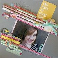 Hello Love by Leslie Ashe from our Scrapbooking Gallery originally submitted 09/03/13 at 02:15 PM