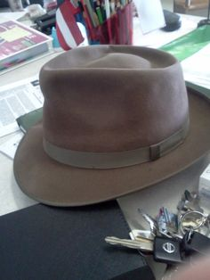 3bfa0934311 Retail- perfect condition  60.00 This is a Towncraft Fedora which was JC  Penny s store brand. Mens ...
