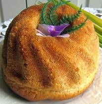 Babka is an indispensable component of a Polish Easter feast and is featured in other cuisines, including Ukrainian where it takes a tall shape similar to a Russian Kulich.
