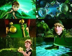 Green scenes in Frozen