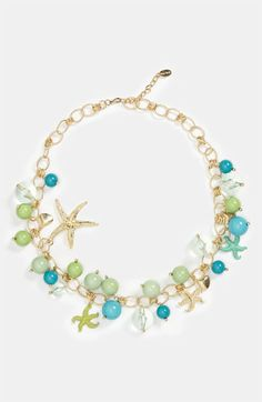 Cara 'Under the Sea' Charm Necklace available at Nordstrom