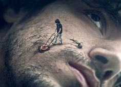 """""""Martin de Pasqualeis an artist and photographer that did this incredible photo manipulations and surreal digital artworks."""""""