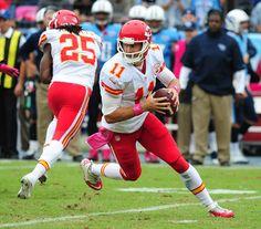 Alex Smith Photos - Wild Card Playoffs - Kansas City Chiefs v Indianapolis Colts - Zimbio