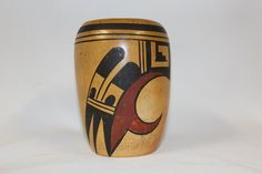 Native Pottery : Good Condition, Native American, Hopi Pottery Jar, by Ethel Grover #183