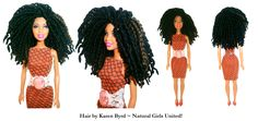Sure wish I had these dolls when I was a kid! http://www.naturalgirlsunited.com/natural-hair-dolls.html