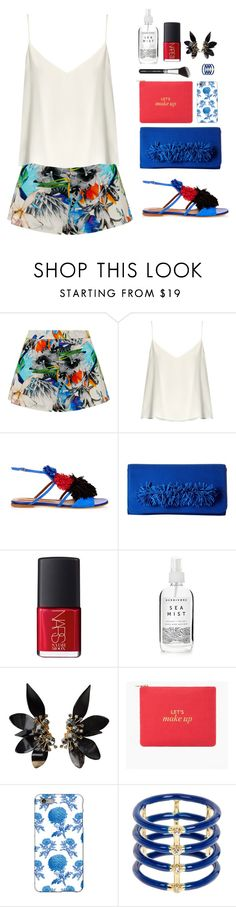 """Tropical"" by solespejismo ❤ liked on Polyvore featuring Suboo, Raey, Malone Souliers, Steve Madden, NARS Cosmetics, Herbivore, Marni, Chico's, Thornback & Peel and Elizabeth and James"