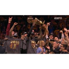 LeBron promised the city of Cleveland a championship and he delivered one. The Cavs beat the Warriors 93-89 in Game 7 becoming the first team to come back from a 3-1 series deficit. The King did it in triple double fashion finishing with 27-11-11. It was his 7th triple double in the Finals and the 3rd one to ever do it in Game 7. DONT HATE THE KING!!!!! #dhtk #REPRE23NT #donthatetheking