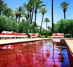 tiled pool in morocco | ... the murano resort in morocco s red city also known as marrakesh is