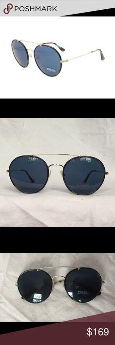 a6e6eb82399 Prada Designer Sunglasses Model SPR53P Model SPR53P. Designed in Italy.  Round style