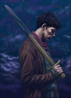 tumblr_men78jwiaX1qjt72wo2_r23_500.jpg (500×691)  Merlin! Oh how i loveth thee!!