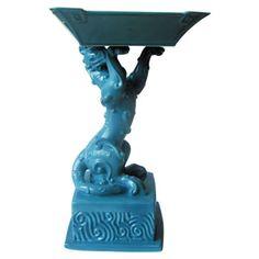 Jean Boggio Fortune Cornucopia (Turquoise). Biggs Ltd. Gallery. Heirloom quality bridal and home decor. 1-800-362-0677. $325.