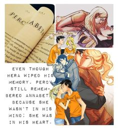 """Percabeth"" by beautyqueenpiper ❤ liked on Polyvore featuring art"