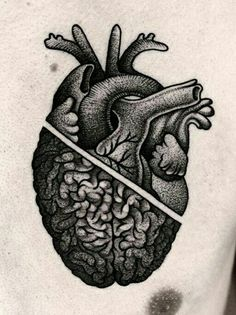 ** Kamil Czapiga coronary heart Mind tattoo...