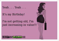 Its (not) my birthday