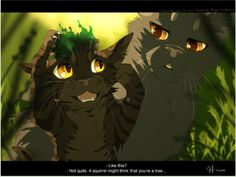 WCP - Yellowfang\'s Secret - \'Not quite. A squirrel might think that you\'re a tree...\'