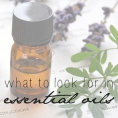 List of all the essential oils with links to a page about them