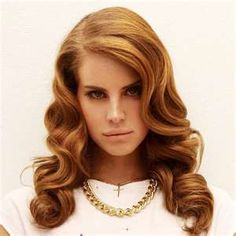a32f32aa12 lana del ray hair- caramel blonde and vintage waves.I m not the biggest fan  of her music
