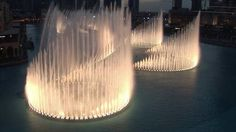 * Фонтаны в ОАЭ... Дубай.../ The Dubai Fountain...