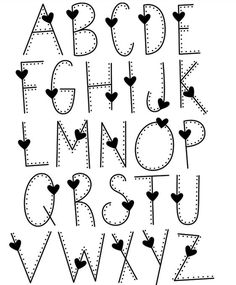 Handlettering alphabet, handlettering, handlettering quotes, handlettering fonts… – Come Back to School Hand Lettering Alphabet, Doodle Lettering, Lettering Styles, Calligraphy Letters, Alphabet Fonts, Doodle Fonts, Pretty Fonts Alphabet, Doodle Alphabet, Alphabet Worksheets