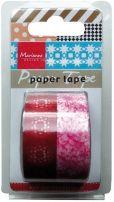 Paper tape - Flowers - Kommer i august! - Global Hobby og Kunst