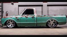 Love the wheels! 67 72 Chevy Truck, Custom Chevy Trucks, C10 Trucks, Chevy Pickup Trucks, Hot Rod Trucks, Chevy C10, Chevy Pickups, Chevrolet Trucks, Vintage Trucks