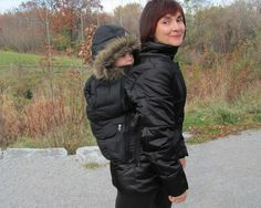 Winter Babywearing C