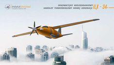 Samolot turbośmigłowy nowej generacji ILX-34 (fot. Instytut Lotnictwa) - Samolot turbośmigłowy nowej generacji ILX-34 (fot. Instytut Lotnictwa)