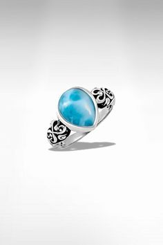 Larimarket - MarahLago Kai Collection Larimar Ring, $165.00 (http://www.larimarket.com/marahlago-kai-collection-larimar-ring/)