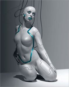 Cyborg by Ales Kotnik | Image brought to you courtesy of www.robotradio.com | An…