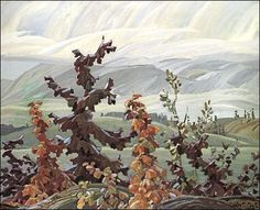 Franklin Carmichael Scrub Oaks and Maple Group of Seven Art is available unframed. Studio Size: x Designer Size: x Full Size: x Group Of Seven Artists, Group Of Seven Paintings, Tom Thomson, Emily Carr, Maurice Denis, Canadian Painters, Canadian Artists, Edouard Vuillard, Landscape Art