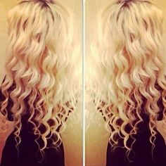 So pretty! If only I had hair like this. ♡