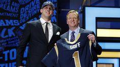 NFL: Rams escogen al QB Jared Goff como pick 1