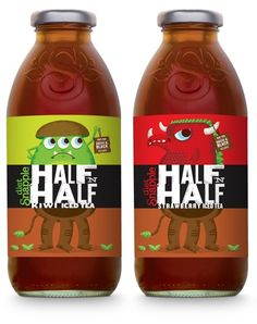 half and half, awesome mix and illustrations
