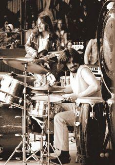 John Bonham and John Paul Jones, Led Zeppelin