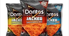 Doritos Jacked Pouch Packaging design with attractive colour combination