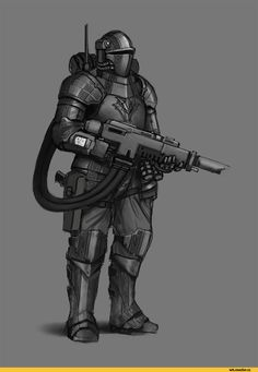 & request, a mix of a late medieval knight and of a tempestus scion Warhammer 40k Art, Warhammer Fantasy, Armor Concept, Weapon Concept Art, Warhammer Imperial Guard, Armadura Medieval, Sci Fi Armor, Futuristic Art, Medieval Knight