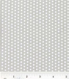 Nursery Fabric- Grey White Mini Dot : fabric :  Shop | Joann.com
