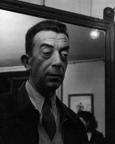 Robert Doisneau // Portrait of the French novelist Marcel Aymé, 1955