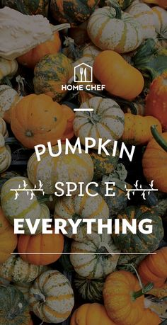 Anyone out there ready for autumn? One harvest staple stands alone - Pumpkin Spice. Fun facts about PSL + seasonal pumpkin recipes... and start cooking Home Chef autumn meals with $30 off your first box.