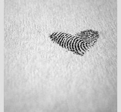 Cute idea! My sons finger prints! Could also do for future children.