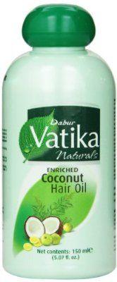 Dabur Vatika Enriched Coconut Hair Oil 150ml (Pack of 2)