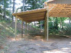 Wood Lean To | My Woodworking Plans