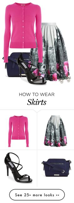 """Sightseeing: Statement Skirt 1"" by gummybear178 on Polyvore"