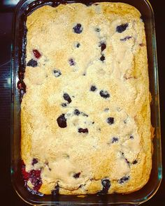 Wildberry cobbler fresh out of the oven and an eggbake cooking as we speak. Who wants breakfast?