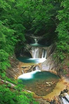 Small cascade in Chocó, Colombia. The untouched nature of this region will…