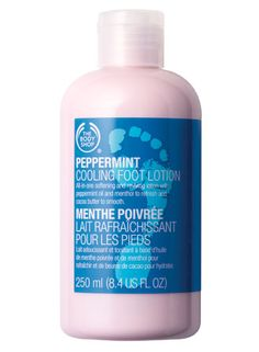 Peppermint foot lotion